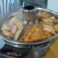 Photo taken at Restoran Yuen Buffet Steamboat by miko y. on 7/11/2012