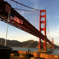Photo taken at Fort Point National Historic Site by Fionn C. on 11/14/2011