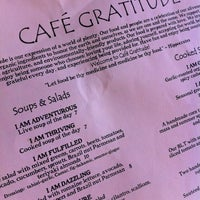 Photo taken at Cafe Gratitude by Michael W. on 4/26/2011