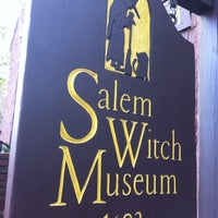 Photo taken at Salem Witch Museum by Jonathan A. on 7/19/2011