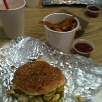 Photo taken at Five Guys by Kimberly M. on 1/7/2012