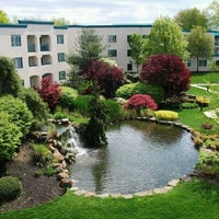 Photo taken at DoubleTree Suites by Hilton Hotel Mt. Laurel by Leandra L. on 2/11/2011