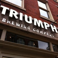 Photo taken at Triumph Brewing Company by Steven Z. on 6/1/2012