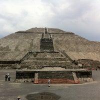 Photo taken at Zona Arqueológica de Teotihuacán by Starbuck C. on 6/30/2012