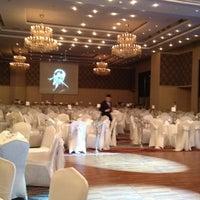 Photo taken at Sheraton Hotel Maslak by Caglar A. on 2/22/2012