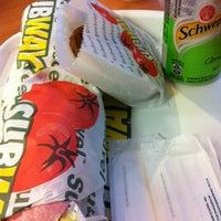 Photo taken at Subway by Roberta B. on 4/12/2012