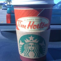 Photo taken at Tim Hortons by David F. on 8/16/2012