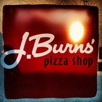 Photo taken at J Burns Pizza Shop by HL M. on 2/18/2012