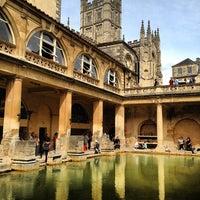 Photo taken at The Roman Baths by Bryan H. on 8/26/2012