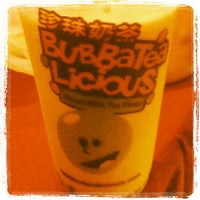 Photo taken at BubbaTeaLicious by Rey B. on 6/3/2012