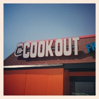 Photo taken at Cook-Out by Jeremy D. on 4/28/2012