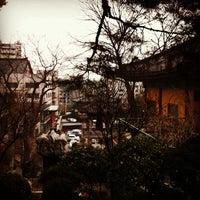 Photo taken at 보문사 (普門寺) by Ji Ho P. on 3/16/2012