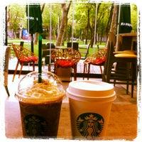 Photo taken at Starbucks by Zeynep B. on 4/27/2012