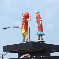 Photo taken at Superdawg Drive-In by Andrew on 7/2/2012