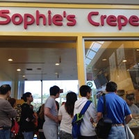 Photo taken at Sophie's Crepes by Teresa A. on 8/6/2012