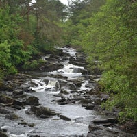 Photo taken at Falls Of Dochart by Mark G. on 6/15/2012