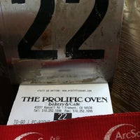 Photo taken at The Prolific Oven by Genny H. on 9/6/2012