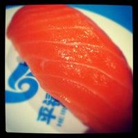 Photo taken at Heiroku Sushi by Aue P. on 3/2/2012