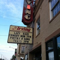 Photo taken at Irving Theater by Brittany L. on 5/13/2011