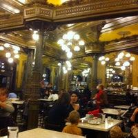 Photo taken at Café Iruña by Enrique S. on 12/9/2011