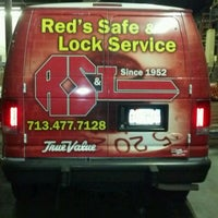 Photo taken at Red's Safe & Lock Services Inc. by Michael D. on 5/14/2012