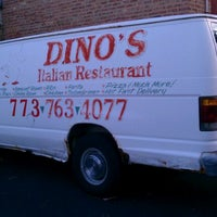 Photo taken at Dino's Pizza by Ron G. on 7/12/2011