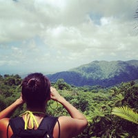 Photo taken at El Yunque National Forest by Edwin Deras on 6/24/2012