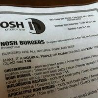 Photo taken at Nosh Kitchen Bar by Anne D. on 6/12/2012