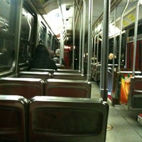 Photo taken at TTC Streetcar #504 King St by Peter V. on 11/14/2011