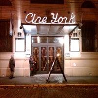 Photo taken at Cine Teatro York by Matías C. on 7/9/2012
