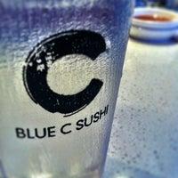 Photo taken at Blue C Sushi by Kate K. on 8/1/2012