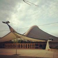 Photo taken at David S. Ingalls Rink by Brendan N. on 4/15/2012
