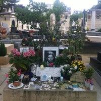 Photo taken at Cimetière du Montparnasse by Courtney M. on 7/12/2012
