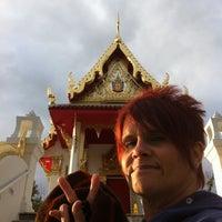 Photo taken at Wat Mongkoltepmunee (Thai Buddhist Temple) by Linda C. on 10/21/2011