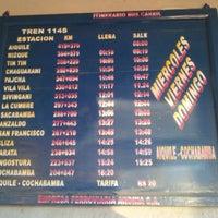 Photo taken at Estacion de Trenes de Aiquile by kassanmoor on 7/22/2012