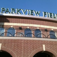Photo taken at Parkview Field by Steve M. on 8/27/2011