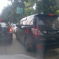 Photo taken at Lampu Merah Permata Hijau by Adhika W. on 1/27/2012