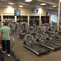 Photo taken at LA Fitness by James C. on 12/15/2011