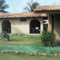 Photo taken at chalé 53 - Hotel Parque das Fontes by Henrique S. on 4/7/2012
