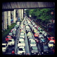 Photo taken at Ratchaprasong Intersection by Phurich S. on 6/26/2012