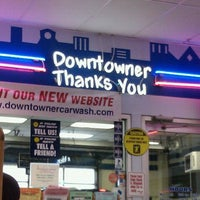 Photo taken at Downtowner Car Wash by Bernadette H. on 9/21/2011