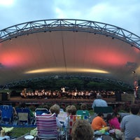 Photo taken at Symphony Park by Monika N. on 6/24/2012