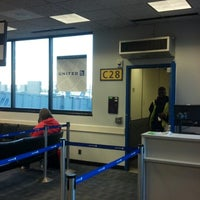 Photo taken at Gate C28 by Tom D. on 7/25/2012