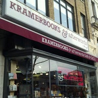 Photo taken at Kramerbooks & Afterwords Cafe by Tauhid C. on 12/20/2011