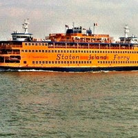 Photo taken at Staten Island Ferry Boat - Andrew J. Barberi by April B. on 5/1/2012