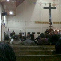 Photo taken at Gereja HKBP Sirisirisi Resort Sirisirisi by Sadvent M. on 12/24/2011