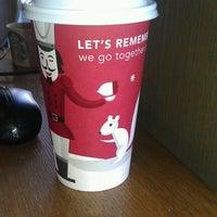 Photo taken at Starbucks by Ashley J. on 11/6/2011