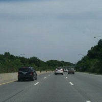 Photo taken at Northern State Parkway by Cynthia A. on 8/18/2011