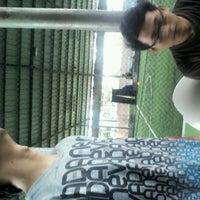 Photo taken at Cimahpar Futsal by Jarip Aripudin Almamuni on 12/31/2011