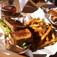 Photo taken at Gooeyz Grilled Cheese by Andrew M. on 6/9/2012